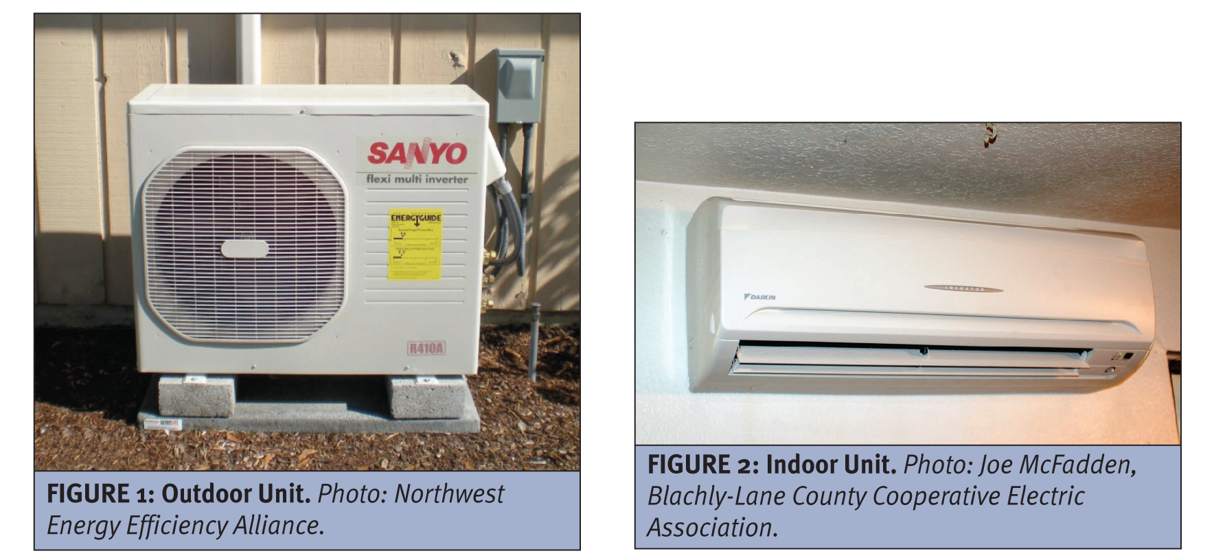 mini split system (ductless heat pump) is similar to a central air  #A0992B